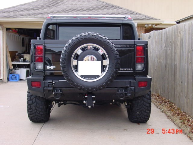 hummer x forum view topic spare tire carrier mod. Black Bedroom Furniture Sets. Home Design Ideas