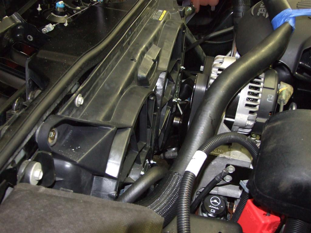 Hummer X Forum View Topic Electric Fan Conversion Installed Wiring Harness H2 Install 025 Large