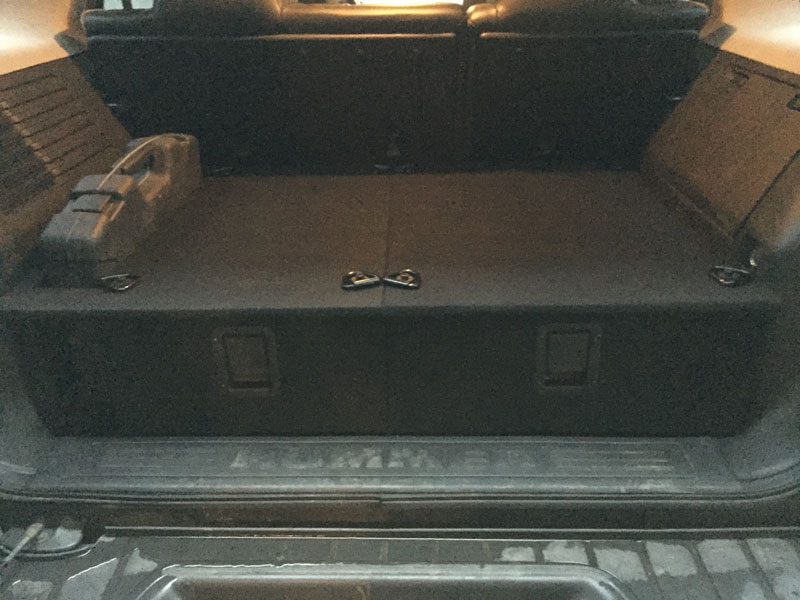 Hummer X Forum View Topic H3 Cargo Drawer