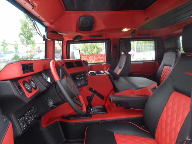Hummer X Forum • View topic - Custom H1 Interior Cost